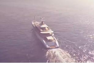 超级游艇上的家庭生活