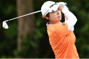 富邦LPGA台湾锦标赛轮池恩熹半程领跑