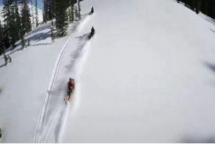 脚踏滑雪板,手拿GOPRO,带你走遍世界滑雪圣地——怀俄明