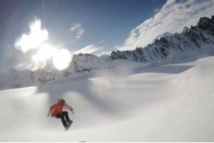 脚踏滑雪板,手拿GOPRO,带你走遍世界滑雪圣地——阿拉斯加第二弹