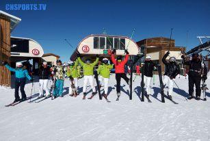 2018新年新气象,日本滑雪高手莅临,北京高雪运动俱乐部活动升级