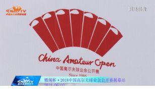 雅阁杯·2018中国高尔夫球业余公开赛·揭幕站圆满落幕