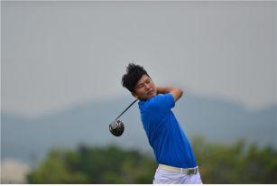 """2018""""张连伟""""杯国际青少年高尔夫球澳门公开赛第一轮"""