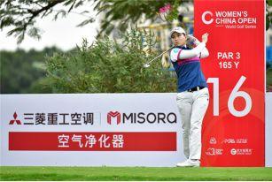 中国女子公开赛次轮
