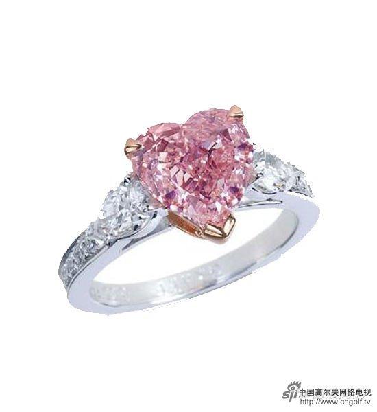 心形珠子戒指编法图片